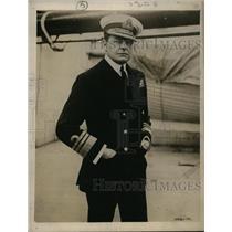 1918 Press Photo Admiral Sir David Beattu British Grand Fleett