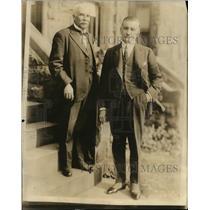 1922 Press Photo Francisco Sanchez Latoru of Guatemala in Wash DC - nex84344
