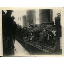 1927 Press Photo Japanese refugees from upper Yangtze