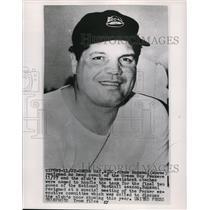 1958 Press Photo Gene Ronzani head coach of Green Bay Packers in Wisconsin