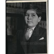 1938 Press Photo Christy Walsh Jr Sportscaster