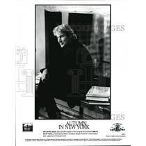 2000 Press Photo Richard Gere In Autumn In New York - cvp39589