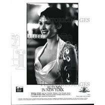2000 Press Photo Winona Ryder Autumn In New York - cvp39588