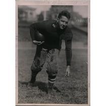 1920 Press Photo C. Moszczinski, halfback, Columbia University football