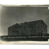 1924 Press Photo The Mission hospital Point Barrow Alaska