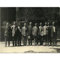 1922 Press Photo Badao Baburo Charge de Affairs Japanese Embassy