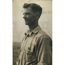1920 Press Photo HO Wentworth, Classic Dust Bowl Portrait