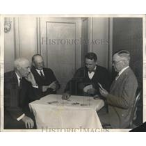 1927 Press Photo C Apthorp M Maschke H Jaeger C Robertson National Bridge Tourn