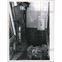 1968 Press Photo Rapid Transit CJS Airport Extension - cva72987