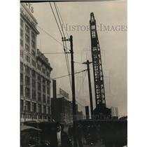 1924 Press Photo Union Station site in Square, Cleveland - cva96136