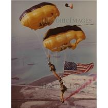 1981 Press Photo U.S. Army Golden Knights - cva79456
