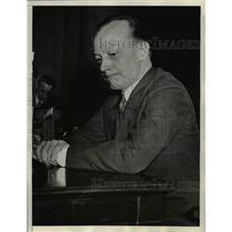 1934 Press Photo Maryland Attorney General W. Preston Lane
