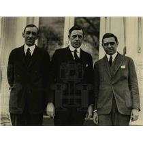 1922 Press Photo White House Correspondent Assn Russell Young, Frank Statson