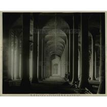 1922 Press Photo Concrete columns at Baldwin Reservoir - cva97579