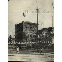 1921 Press Photo The Cleveland Celebrating the 100th Anniversary - cva90809