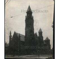 1913 Press Photo Prospect & East 30th Presbyterian Church - cva86050