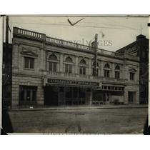 1921 Press Photo Entrance to the new Lorain Fulton Theater - cva97341