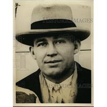 1927 Press Photo Harold Steele, Asst. Coach of University of Kansas football