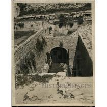1924 Press Photo Upper Pool of Siloam Where Jesus Sent Blind Man Away Seeing