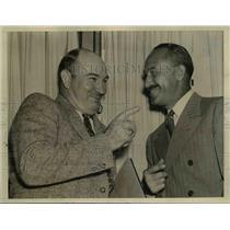 1938 Press Photo Col Sumpter Smith and Thomas O.Hardin of Air Safety Board