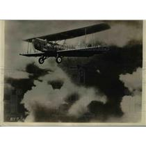 1927 Press Photo Huff Deland Cyclops in Flight