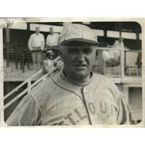 1928 Press Photo Dan Howley, Manager of St. Louis Americans