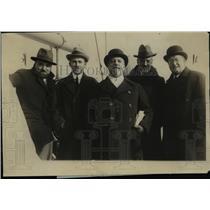 1925 Press Photo Dino Grandi Albert Pinelli Count G Volpi Di Misurata M Alberti