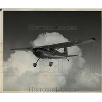 1957 Press Photo Cessna 180 Airplane