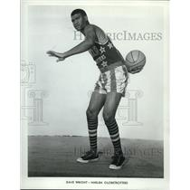 1967 Press Photo David Wright of Harlem Globetrotters - ors02162