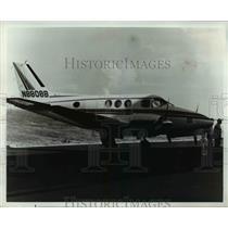 1967 Press Photo Beechcraft Queen Air 88