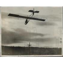 1932 Press Photo Motorless Plane Constructed by University of Washington Student