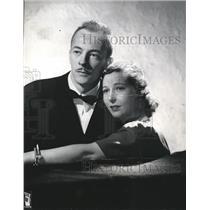 1941 Press Photo Les Tremayne & Barbara Luddy in First Nighter