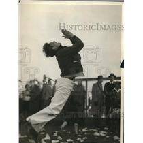1924 Press Photo Franklin Lapp Marshall, School Cheerleader - cva85677