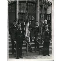1942 Press Photo William Moore, Walt Clough, Ed Miller, R. Rhoades, H. Ackerman,