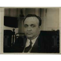 1920 Press Photo Dr Alvaro Torre Diaz of Provisional Mexican government
