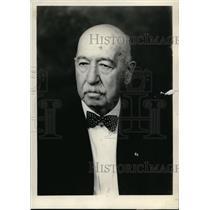 1934 Press Photo Rotarian local club member Chauncey Betts on 83rd birthday