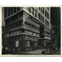 1933 Press Photo New Richman Store - cva73879