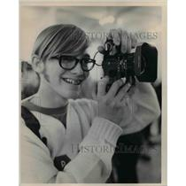 1971 Press Photo Oakley C Coelins at PD's Camera Show - cva76252