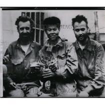 1950 Press Photo Death Marchers - spa02761