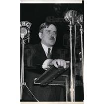 1936 Press Photo Earl Browder Communist Presidential Candidate - spa01610