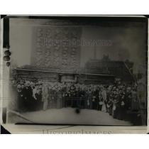 1930 Press Photo Old settlers association at Cleveland Sentennial 1896