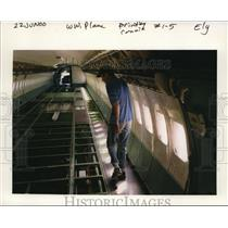 2000 Press Photo Boeing 727 Airplane - orb13596
