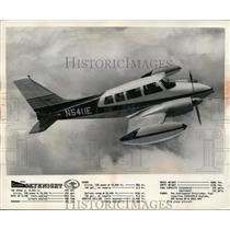 1962 Press Photo Cessna Skynight to be Shown at Lost Nation Airport Willoughby