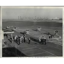 1964 Press Photo Helicopters at Columbia Aviation Country Club - orb59866