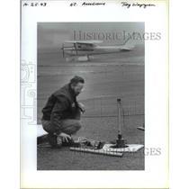 1993 Press Photo Airport Clark Aerodrome - ora98557