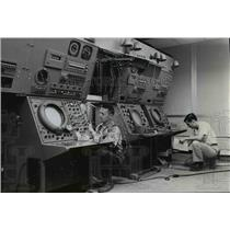 1958 Press Photo Evertt Smart & Sam Kelly -Civil Aeronautics Administration
