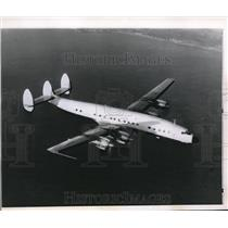 1962 Press Photo Constellation flying over the same type on reported missing