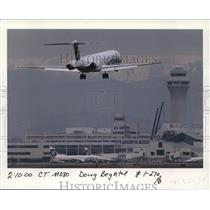 2000 Press Photo Alaska Airline MD80 - ora99638