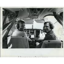 1977 Press Photo Flighty Future--Paul Christensen of Vancouver and Warren