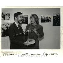 1987 Press Photo A bit of History-- Jean Gardner, wife of Washington's Gov.